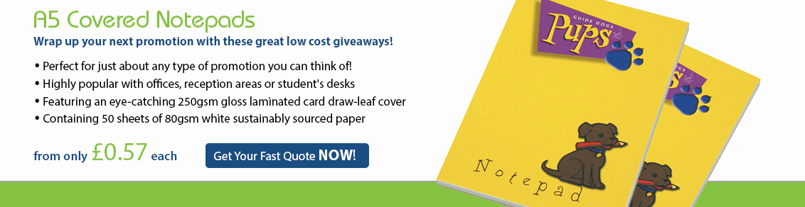 A5 Covered Notepad
