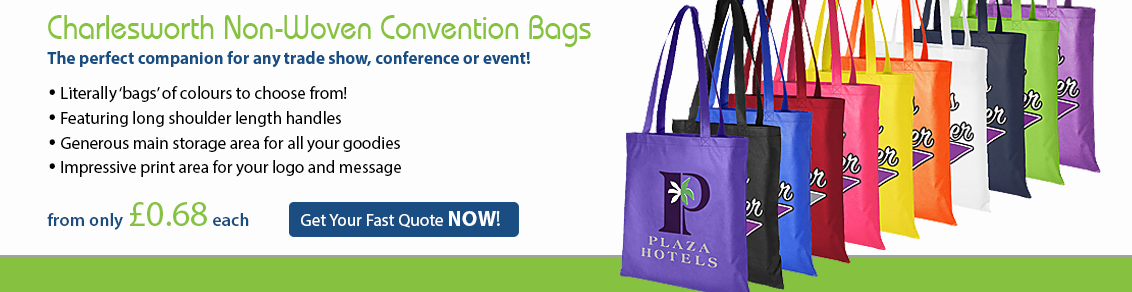 Charlesworth Non-Woven Convention Bags
