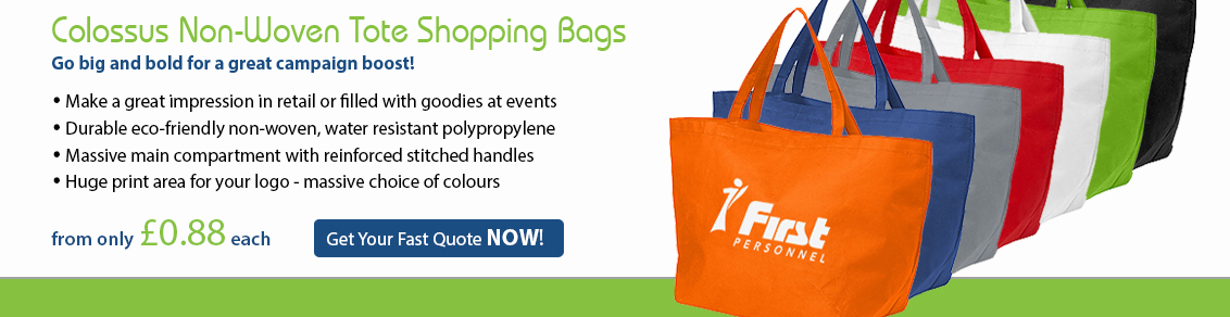 Colossus Tote Shopping Bags