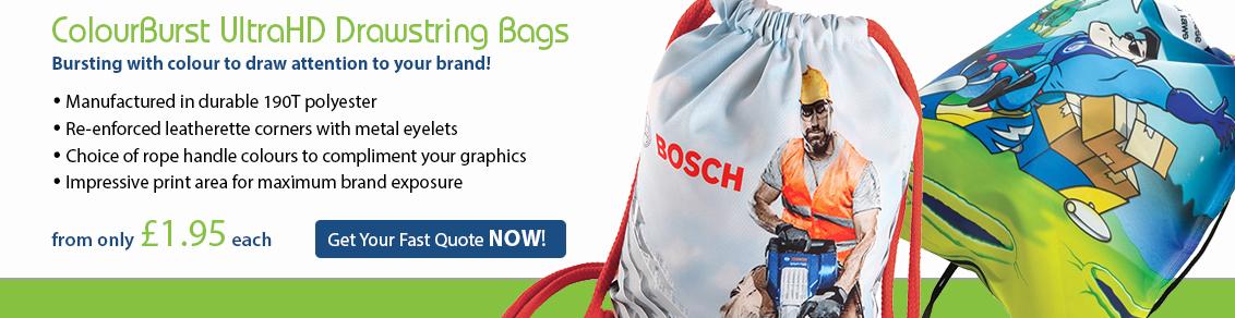 ColourBurst Drawstring Bag