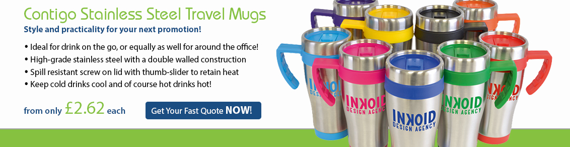 Contigo Stainless Steel Travel Mugs