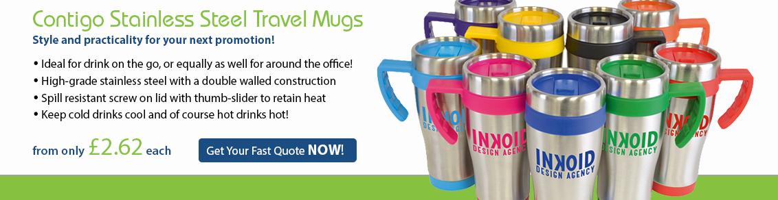 Contigo Stainless Steel Travel Mugs