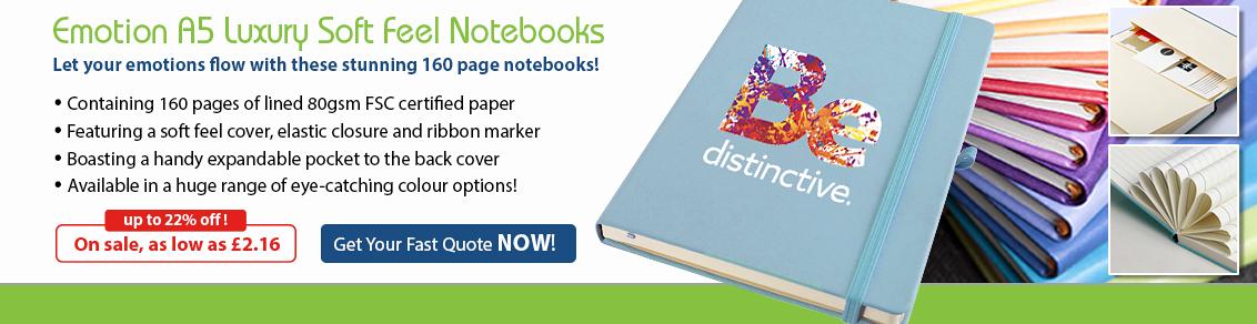 Emotion A5 Notebook