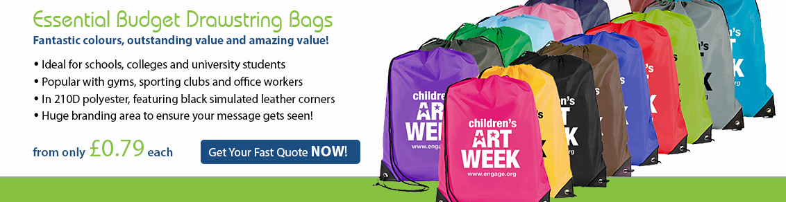 Essential Drawstring Bags