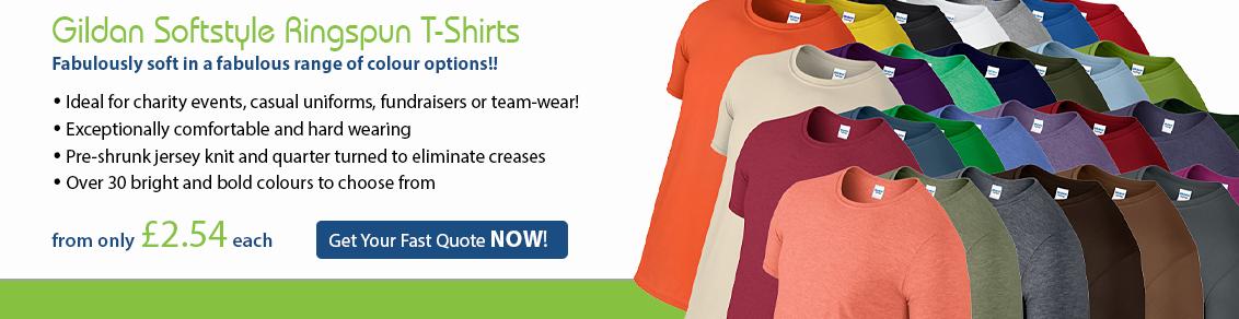 Gildan Softstyle Ringspun T-Shirts