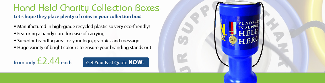 Hand Held Charity Collection Boxes