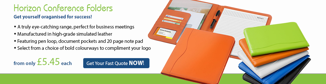 Horizon Conference Folders
