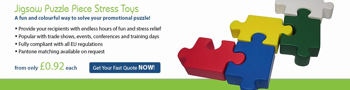 Jigsaw Puzzle Piece Stress Toys