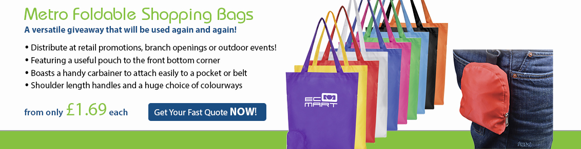 Metro Foldable Shopping Bags