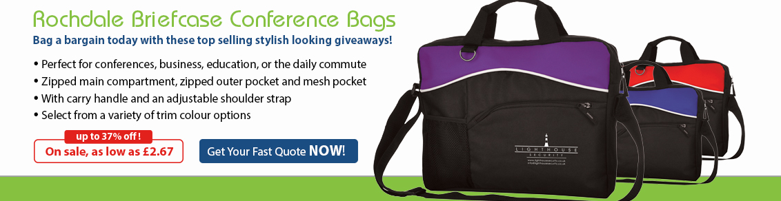 Rochdale Conference Bags