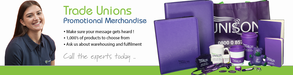 Promotional Products for Trade Unions