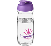 H20 Splash 600ml Flip Top Water Bottle