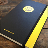 Increase your brand awareness with notebooks