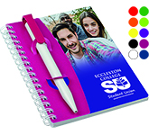 A6 Mix and Match Polyprop Spiral Bound Notebook
