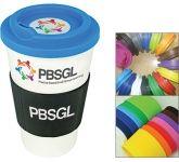 ColourBrite Cubana Grip 350ml Take Away Mug