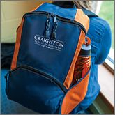 Backpacks will turn that sports fanatic or that university student into your walking billboard!