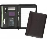 Wycombe Zipped Leather Calculator Folder