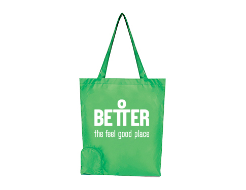 Metro Foldable Printed Shopping Bag