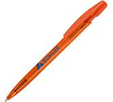 BIC Media Clic Pen - Clear Barrel