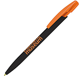 BIC Media Clic Pen - Matt Black Barrel