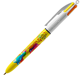 BIC 4 Colours Sun Inks Pen - Full Colour