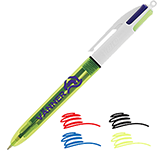 BIC 4 Colours Fluo Highlighter Pens