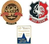 20mm Hard Enamel Pin Badge
