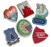 25mm Soft Enamel Pin Badge