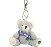 Baloo Bear Keyring With Sash