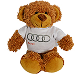 20cm Barney Bear With T-Shirt - Chestnut
