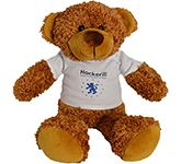 30cm Barney Bear With T-Shirt - Chestnut