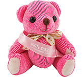 Candy Bear With Ribbon Sash