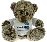 20cm Cocoa Bear With T-Shirt
