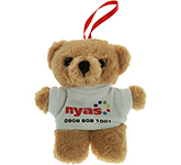 10cm Tiny Honey Bear With T-Shirt
