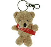 Toby Bear Keyring With Sash
