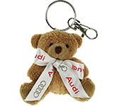 Tubby Bear Keyring With Bow