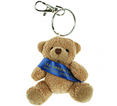 Tubby Bear Keyring With Sash