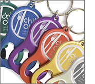 Bottle openers are low cost and deliver a high return on investment