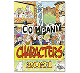 Company Characters Wall Calendar