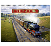 Footplate Wall Calendar