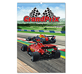 Grand Prix Wall Calendar