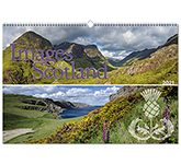 Images Of Scotland Wall Calendar