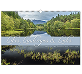 Lakes, Landscapes & Lochs Wall Calendar