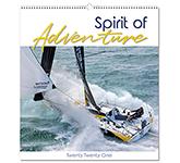 Spirit Of Adventure Wall Calendar