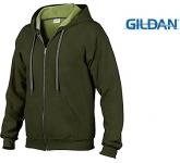 Gildan Heavy Blend Vintage Zipped Hoodie