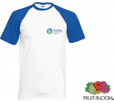 Fruit Of The Loom Baseball T-Shirt