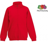 Fruit Of The Loom Kids Classic Full Zip Sweat Jacket