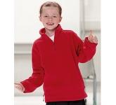 Jerzees Schoolgear Kids Quarter Zip Fleece