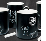 The essence of using branded chalk mugs