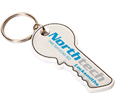 Key Shaped Eco-Friendly Plastic Keyring